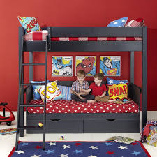 themed superhero bedroom decor for child for home interior design