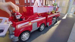 100 Fire Trucks Toys PAW Patrol Ultimate Truck Playset