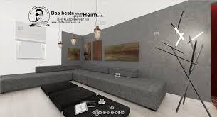 asymmetrie wohnzimmer bildergalerie dunkle wand