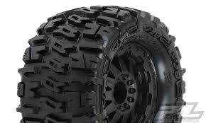 100 All Terrain Tires For Trucks ProLine 117015 Trencher PreMounted For 110 Truck