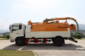 100 Sewer Truck Dredging And Cleaning FLM5161GQXD5_ FUJIAN LONGMA