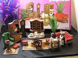 playmobil rosa wohnzimmer zu puppenhaus nostalgie no 5320