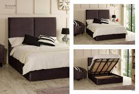 Super King Size Ottoman Bed by Ottoman Beds Fabric Beds Mattresses Double Single U0026 King E