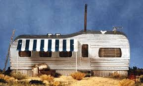 BTS Juniors Shiner Old Style Trailer Home HO Scale Model Railroad