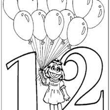Best Photos Of Sesame Street Number Coloring Pages
