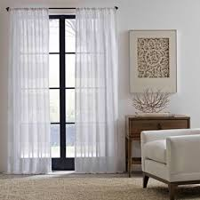 Bed Bath And Beyond Semi Sheer Curtains by Buy Sheer Window Curtains U0026 Drapes From Bed Bath U0026 Beyond