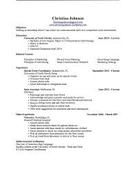 Communication Skills Resume Example Regular Munication On Sample Free Vq E44196