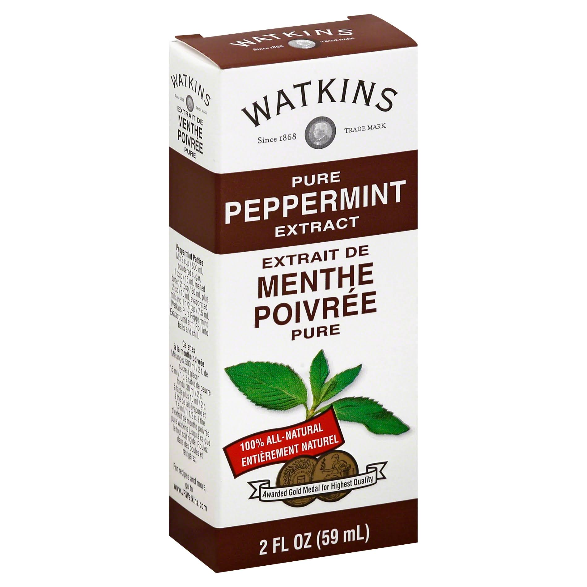 Watkins Pure Peppermint Extract - 2 fl oz