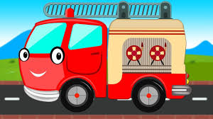 Fire Truck | Emergency Vehicle | Rescue Truck For Toddlers ...