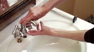 Moen Chateau Bathroom Faucet Manual by How To Install A Moen Centerset Faucet Youtube