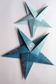 Easy Paper Handicrafts Making Step By Unique How To Make Folded Christmas Decorations