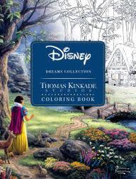 Title Disney Dreams Collection Thomas Kinkade Studios Coloring Book Author