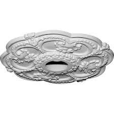 Split Design Ceiling Medallion by Amazon Com Ekena Millwork Cm17ro 18 Inch Od X 3 1 2 Inch Id X 1 1