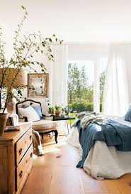 relaxed chic bedroom with linens bedroomdecor