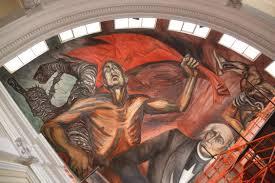 Jose Clemente Orozco Murales Palacio De Gobierno by Concluye Restauración De Murales En Palacio De Gobierno