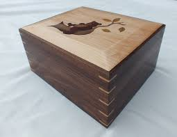 CUstom Inlay On Keepsake Box