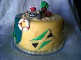 Jayme s Cakes Jamaican Themed Island Cake