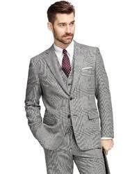 hugo plaid suit hugo hugo fil a fil textured solid three suit slim fit