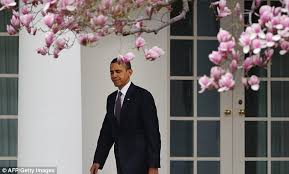 President Obama locked out of the White House