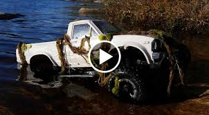 100 Axial Rc Trucks Toyota RC Truck Goes For A Swim SCX10 Hilux Speed Society