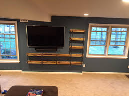 Wall Units Awesome Diy Entertainment Center Homemade Ideas Pallet And