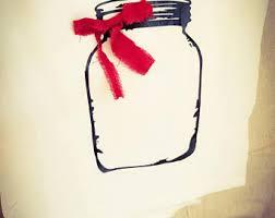 Kitchen Towel Flour Sack Farmhouse Decor Mason Jar Theme Rustic