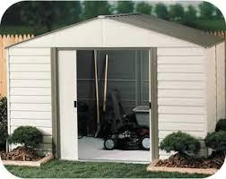 arrow galvanized steel storage shed 10x8 vinyl milford 10x10 arrow storage shed kit vm1010