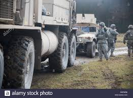 100 Truck Part Specialist A US Soldier Assigned To 554th Military Police Company Directs A