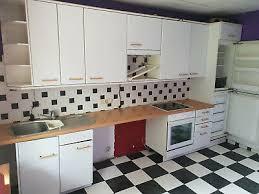 komplett küche küchenzeile gebraucht weiß mit e geräten