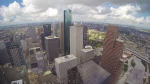 Chase Tower Observation Deck Dallas by Houston Tx 2015 View Towards The Houston Tx Galleria Seen From