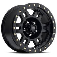 100 16 Truck Wheels Vision Manx Matte Black Rims 8x65 8 Lug Dodge RAM Chevy GMC HD EBay