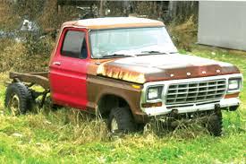 100 Rusty Trucks Hoosier Snow Job Ford Truck Hot Rod Network