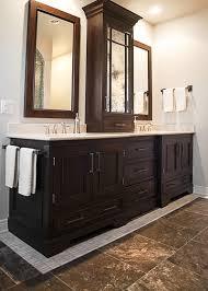 Bathroom Vanity With Tower Pictures by Vanity Towers Take Bathroom Storage To New Heights Regarding