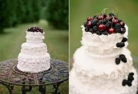 DIY Fresh Fruit Wedding Cake Topper