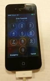Apple iPhone 4 8GB Verizon Model No A1349 EMC No 2422 Passover