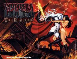 Lady Death Revenge 1999 Ashcan 23PLATINUM