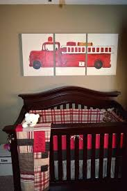 Geenny Fire Truck Crib Bedding - Bedding Designs