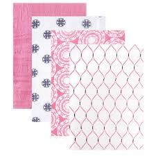 Amazon Com 4 Piece Baby by Amazon Com Hudson Baby 4 Piece Muslin Swaddle Blanket Pink