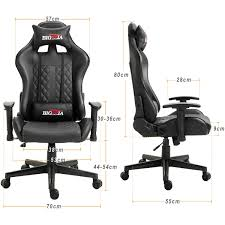 Details About BIGZZIA PRO GT RECLINING SPORTS RACING GAMING OFFICE DESK PC  CAR LEATHER CHAIR Costco Gaming Chair X Rocker Pro Bluetooth Cheap Find Deals On Line Off Duty Gamers Maxnomic Dominator Gamingoffice Gaming Chair Star Trek Edition Classic Office Review Best Chairs Ever Maxnomic By Needforseat Brazen Shadow Pc Chairs Amazoncom Pro Breathable Ergonomic Rog Master Akracing Masters Series Luxury Xl Blue Esport L33tgamingcom Vertagear Pline Pl6000 Racing