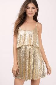 cute gold dress sequin dress gold glitter top skater dress 17