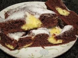 schneller schoko pudding kleckskuchen kochen backen
