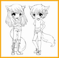 Astonishing Chibi Animal Coloring Pages Anime Manga Kawaii Pic Of Cute Style And Profile Inspiration Inspirational Image