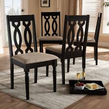Cherese Modern And Contemporary Sand Fabric Upholstered Espresso Brown  Finished Wood Dining Chair (Set Of 4) Simplicity 54 Counter Height Ding Table In Espresso Finish By Jofran Baxton Studio Sylvia Modern And Contemporary Brown Four Hands Kensington Collection Carter Chair Lanier Gray Fabric Michelle 2pack 64175 Pedestal Set Chateau De Ville Acme Whosale Chairs Room Fniture Napa Cheap Dark Wood Find Willa Arlo Interiors Sture Link Print Upholstered Safavieh Becca Grey Zebra Cottonlinen Mcr4502n