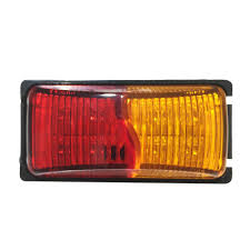 100 Truck Marker Lights 4X LED Clearance Amber RED Side Indicator Trailer