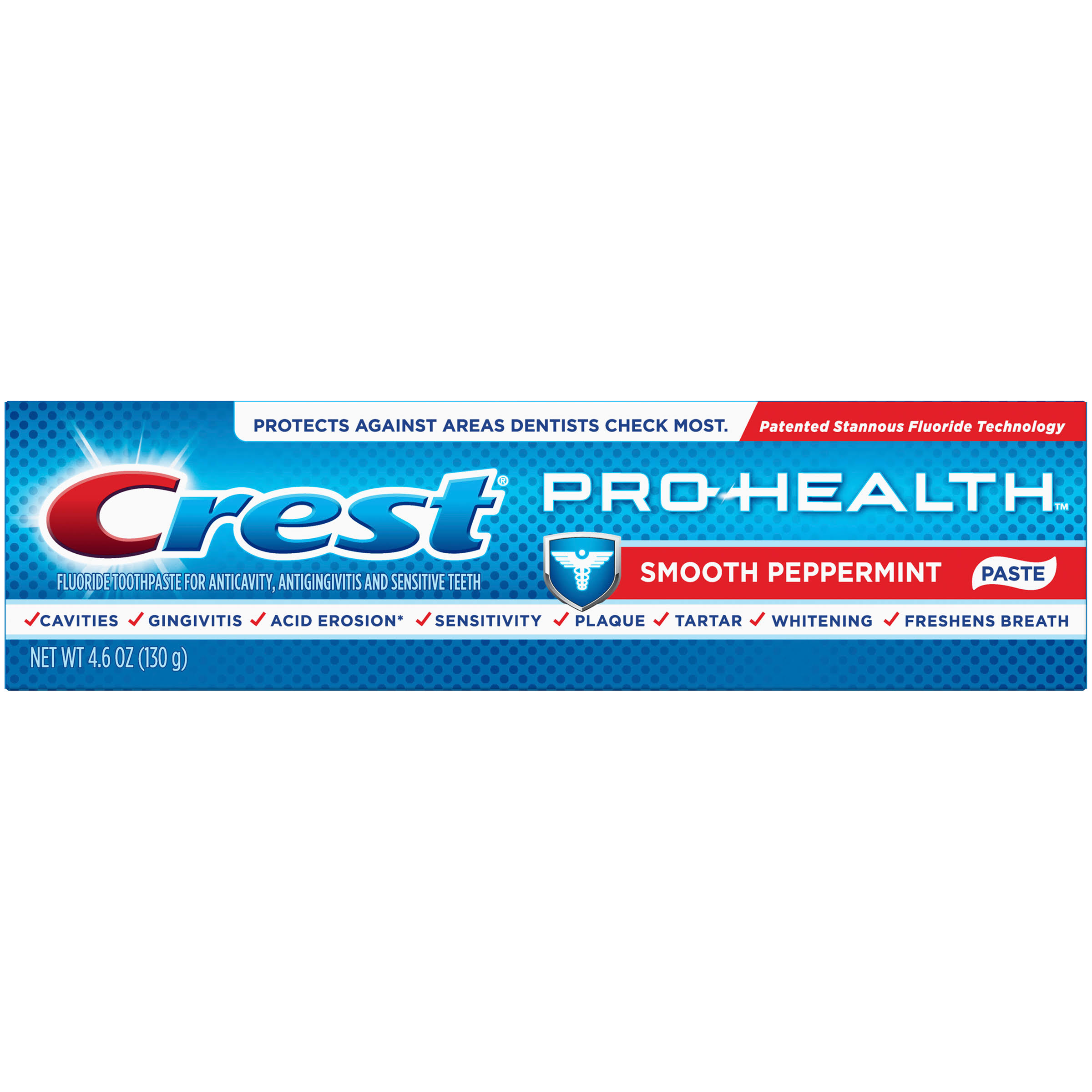 Crest Pro Health Toothpaste Smooth Peppermint - 4.6oz