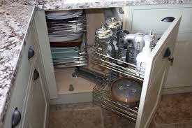 Blind Corner Kitchen Cabinet Ideas by Decor Captivating Blind Corner Cabinet For Kitchen Decoration Pull