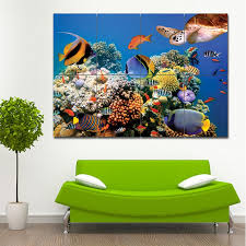 aquarium fish wand kunstdruck riesenposter