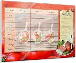 bilderdepot24 memoboard 60 x 40 cm planer tomate und