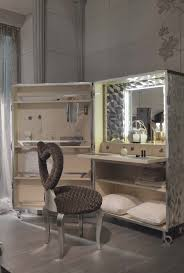Master Bathroom Vanity With Makeup Area by Dressing Tables With Mirrors Reflect The Beauty Of The Décor