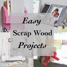 Easy Scrap Wood Project Ideas Woodworking Projects For Beginners